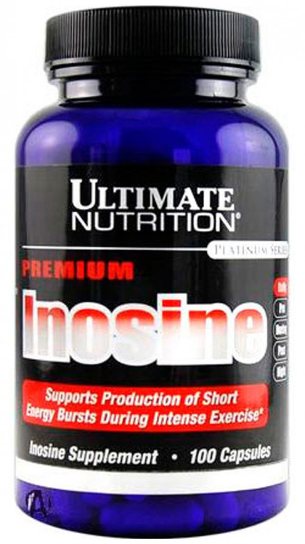 Ultimate Nutrition Pure Inosine 500 мг (100 кап)