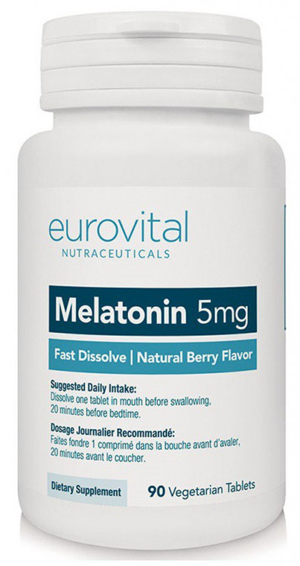 EUROVITAL Melatonin 5 мг FAST DISSOLVE (90 таб)
