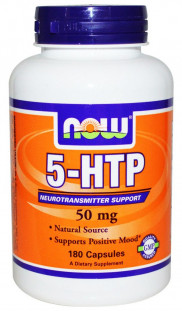 NOW 5-HTP (50 мг) 30 кап