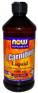 NOW Carnitine Liquid (500мл) 16 oz