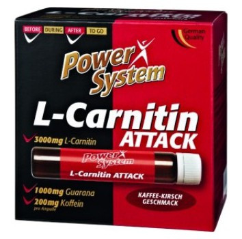 Power System L-Carnitine Attack (1 ампула)