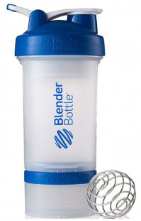 Шейкер BlenderBottle ProStak синий (624 мл)+2 контейнера