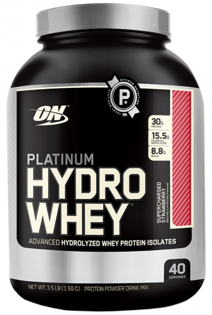 Протеин Optimum Nutrition Platinum  HydroWhey 3.5 lb (1590 г)