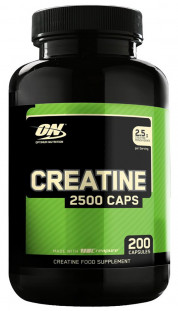 Optimum Nutrition Creatine 2500 mg (200 кап)
