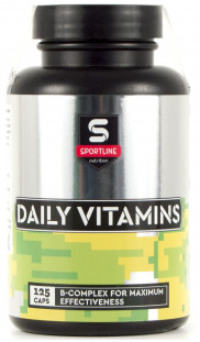 SportLine Daily Vitamins (125 caps)