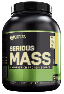 Гейнер Optimum Nutrition Serious Mass 6lb (2727 г)