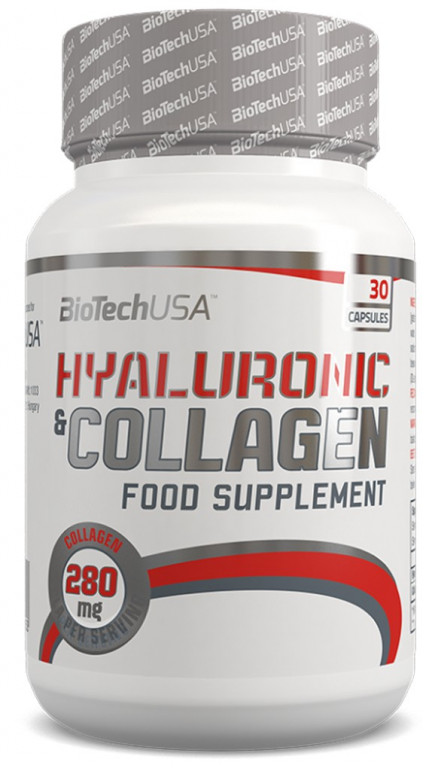 BioTech HYALURONIC & COLLAGEN (30 cap)