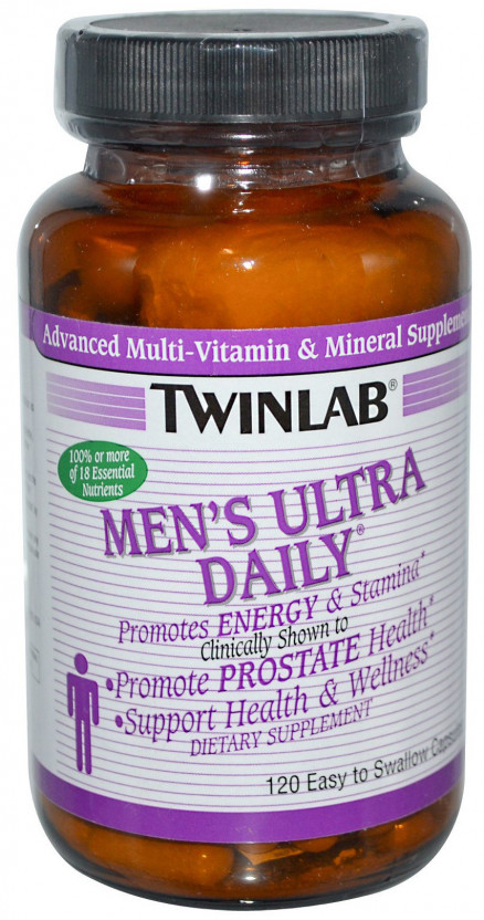 Twinlab Mens Ultra Multi Daily (120 кап)