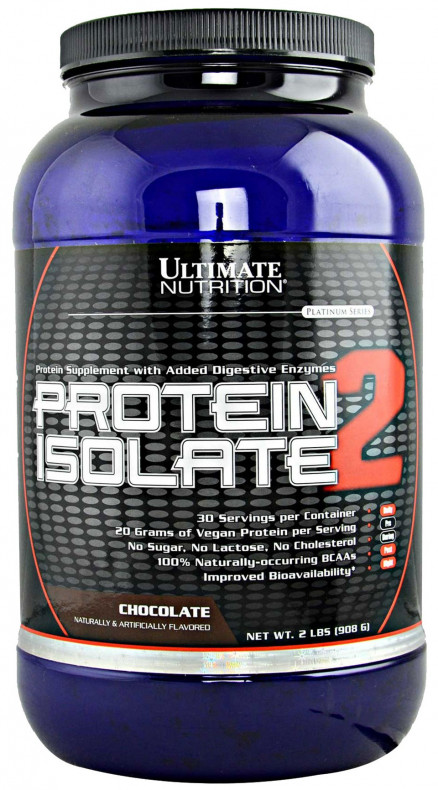 Протеин Ultimate Nutrition Protein Isolate-2 2lb (908 г)