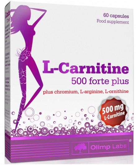 Olimp Labs L-Carnitine 500 Forte Plus (60 кап)