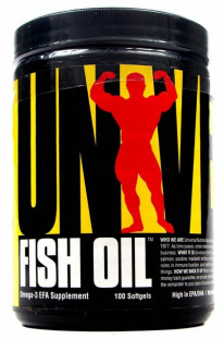 Universal Nutrition Fish Oil (100 капс)