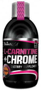 BioTech L- Carnitine 35000 mg + Crome (500 ml)